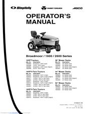 153438_broadmoor_2600_series_product simplicity broadmoor 16hp v hydro manuals