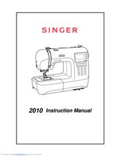 Singer Superb 2010 User Manual