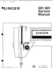 SINGER 591 SERVICE MANUAL Pdf Download