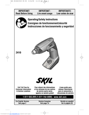 Skil 2410 Operating/safety Instructions Manual