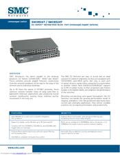 smc networks 8524t manuals rh manualslib com smc networks router manual smc networks manual español