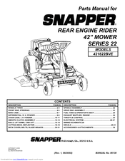 156045_421622bve_product snapper 421622bve parts manual pdf download