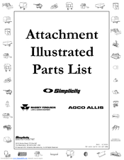 Simplicity 2470 Illustrated Parts List