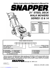 snapper mowers logo. snapper p216012 operator\u0027s manual mowers logo