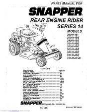 snapper 331414kve manuals rh manualslib com snapper parts manual 06423 snapper parts manual 06128