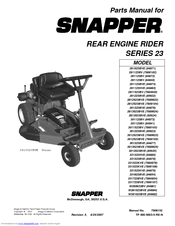 snapper 2812523bve 7800104 manuals