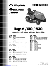 SIMPLICITY 500 SERIES PARTS MANUAL Pdf Download