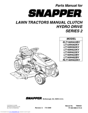 manuals and user guides for snapper lt160h482bv  we have 1 snapper  lt160h482bv manual available for free pdf download: parts manual