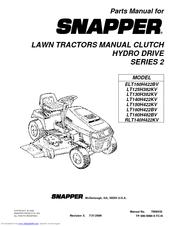 snapper elt160h422bv parts manual pdf download rh manualslib com snapper lawn mower manuals lt145h38dbv snapper lawn mower manual 1990
