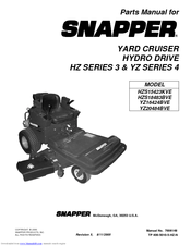 SNAPPER ZTR TRANSAXLE 7029128 HYDRO L.H. EATON MODEL X778-005