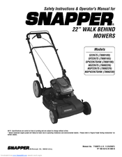 snapper 7800190 manuals rh manualslib com Quick Reference Guide User Guide Template