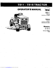 Deutz-Allis T816 Operator's Manual