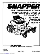snapper zu2014k manuals rh manualslib com snapper lawn mowers manuals m301019be snapper lawn mower manuals download