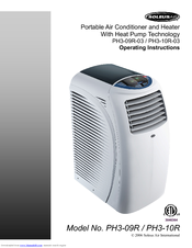 Soleus Air PH3 10R 03 Operating Instructions Manual (16 Pages). Portable  Air Conditioner ...