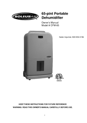 soleus air portable air conditioner manual