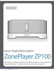 sonos zoneplayer zp100 manuals rh manualslib com Sonos Speakers Sonos ZonePlayer ZP100