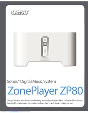 sonos zoneplayer zp80 manuals rh manualslib com ZonePlayer Sonos ZP80 Sonos App Mobile