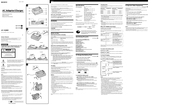 Sony ACV-Q800 Operating Instructions