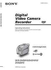 Sony DCR-DVD101E Drivers Update