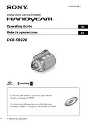 sony handycam dcr sr220 manuals rh manualslib com sony handycam dcr-sr220 driver sony dcr-sr220 software download