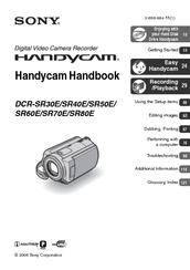 sony handycam dcr sr60 manuals rh manualslib com sony handycam manual dcr-sx85 sony handycam manual dcr-sx65