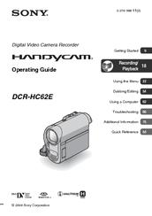 driver sony dcr-hc62e