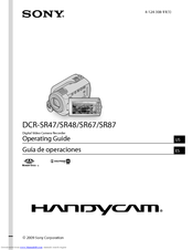 Sony DCR-SR47/R Operating Manual