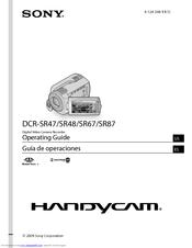 sony handycam dcr sr47 manuals rh manualslib com Sony Handy Cam DCR-SR47 Charging Cords Sony Handycam Instruction Book
