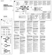 sony cdx gt616u manuals