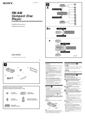 sony cdx mp40 wiring diagram wiring diagrams Sony Faceplate CD Player CDX-GT sony cdx mp40 installation connection manuals sony cdx mp40 wiring diagram