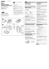 sony walkman wm fx195 manuals rh manualslib com sony walkman manual pdf sony walkman manual pdf