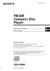 158897_cdxf5000_product sony cdx f5000 fm am compact disc player manuals sony cdx f5710 wiring diagram at letsshop.co