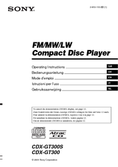 sony cdx gt300 manuals Sony Cdx Gt34w Wiring Schematics for Model manuals and user guides for sony cdx gt300 we have 7 sony cdx gt300 manuals available for free pdf download operating instructions manual, service manual,