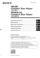 158983_cdxmr10_product sony cdxm10 marine cd receiver slot manuals sony cdx m10 wiring diagram at gsmx.co