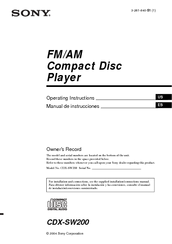159008_cdxsw200_product sony cdx sw200 fm am compact disc player manuals sony cdx-sw200 wiring diagram at edmiracle.co