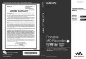 Sony MZ-M10 Operating Instructions Manual