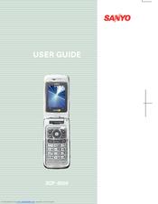 sanyo scp 8500 manuals rh manualslib com Sanyo M1 Sanyo SCP 8400