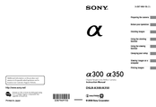 Sony 4-133-499-11 (1) Instruction Manual