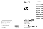 Sony 4-149-235-11 (1) Instruction Manual