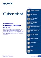 sony cyber shot dsc h9 manuals rh manualslib com Sony Cyber-shot Battery Charger Sony Cyber-shot Battery Charger
