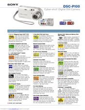 Sony cyber-shot dsc-p100 manuals.