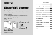 Sony DSC-S600 Operating Instructions Manual