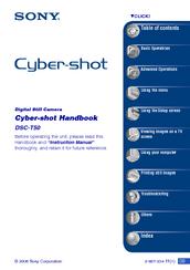 sony cyber shot dsc t500 service repair manual download