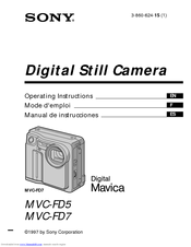 sony mavica mvc fd7 manuals rh manualslib com sony mvc-fd73 manual sony mvc-fd73 manual