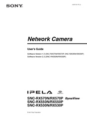Sony Snc-er580 Download