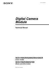 Sony XCD-V60 Technical Manual