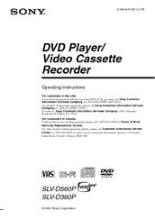 Sony dvp-ns900v operating instructions manual pdf download.