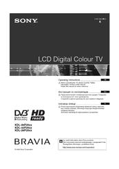 sony bravia 55 lcd manual