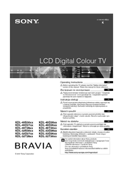 Sony bravia lcd online tv manuals with sony reference book youtube.