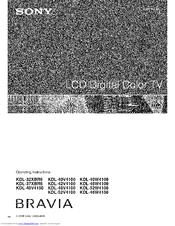 Sony kdl 52w4100 specs